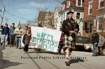 Saint Patrick's Day Parade on Brackett Street, 2001