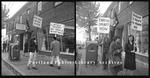 Anti Vietnam War Protest on Forest Avenue, 1965