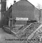 State Street at Gray Street demolition, 1970