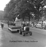 Yarmouth Clam Festival Apollo 11 parade float, 1969