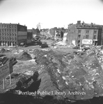 Canal Bank Plaza construction site, 1972