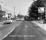 Bridgton Road repaving, 1963