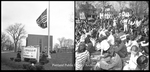 Student anti-war protests at University of Maine in Portland, 1970