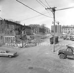Franklin Street demolition, 1969