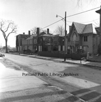 Spring Street between Oak Street and High Street, 1971