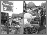 Farmers Market on Temple Street, 1979