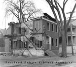 Demolition on Lancaster Street near Wilmot Street, 1965