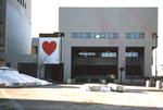 Portland Public Library, Valentine's Day 1983.
